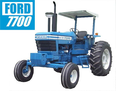 FORD 7700 (2 post) Tractor tee shirt