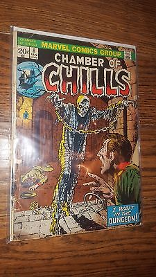 Chamber of chills #8 by Marvel Comics