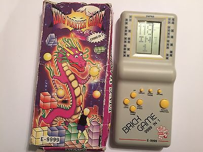 E9999 IN 1 KING MASTER RETRO LCD SCREEN HANDHELD ELECTRONIC GAME tetris variants