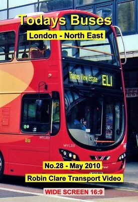 Busflix Films Todays Buses 28 London - North West  2010