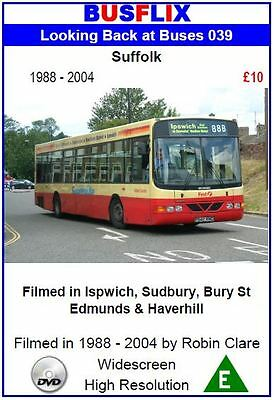Looking Back at Buses 39 Suffolk 1988 - 2004