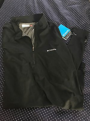 Columbia Men's Midweight Half Zip Omni-Heat Top Size 2XL