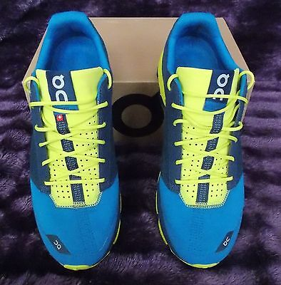 Mens On Cloudster Running Shoes ~ Boxed ~ Size Uk 8.5 ~ Immaculate Condition