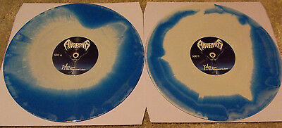 AMORPHIS Tales from the Thousand Lakes/Black Winter Day blue/white 2 Vinyl LP