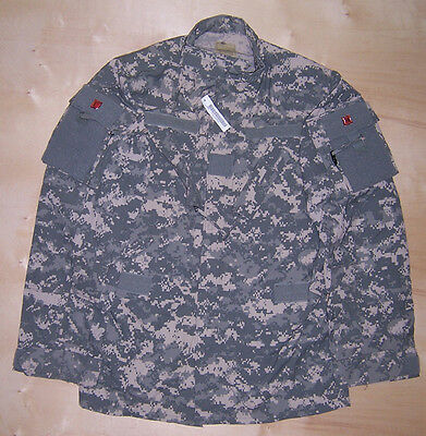 US Army Issue ACU Camo Shirt Medium Long ML New With Tag