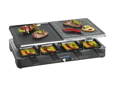 Clatronic 2 in 1 Raclette-Grill RG 3518 Tischgrill