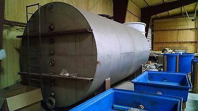 6,000 Gallon Stainless Steel Tank