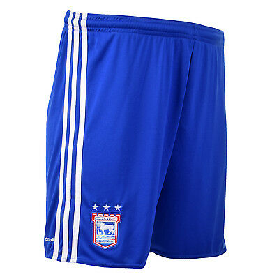 New Adidas Ipswich Town FC Home 2016/17 shorts AP8614 Blue/White Size 11-12 year