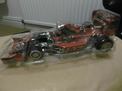 Coca Cola model of Racing Car made from Coke cans