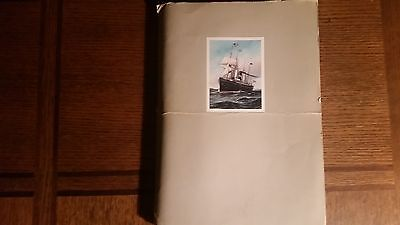 Princess Cruises Vintage Dinner Menu Lot