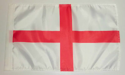"ENGLAND FLAG - 45cm x 30cm - 18"" x 12""  -  Cross of St George"