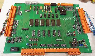 Zcr Ltd Control Board #9310085 For Quad 841C Slder Reflow Oven Made In Uk