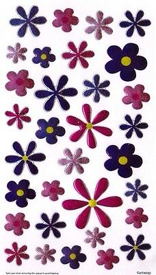 3D Crystal Stickers Flowers for Scrapbooking sticker Album school