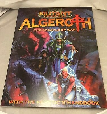Mutant Chronicles. Algeroth The Apostle Of War. The Heretic's Handbook. RPG.