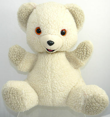 """Snuggle Softener & Russ Advertising Full Body Puppet Bear Pluh 13"""" Collectible"""