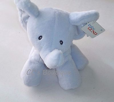 """BABY GUND Bubbles plush elephant toy NWT boys gift 11"""" boutique luxe stuffed"""