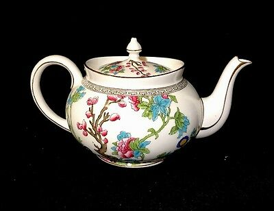 Aynsley Indian Tree Teapot Bone China Made In England