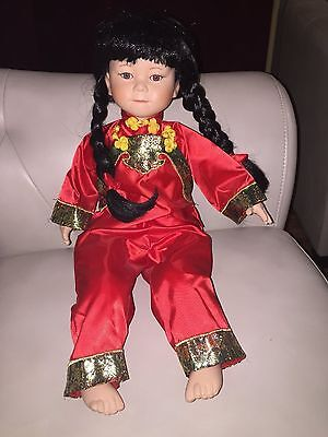 Timeless Limited Edition Porcelain Asian Doll. # 222/2500