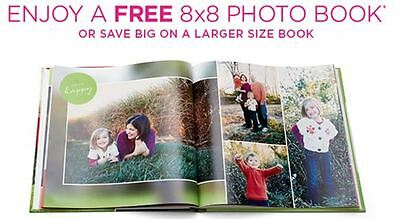 Shutterfly 8x8 Hard Cover Photo Book or save on larger Code Exp October 31, 2017