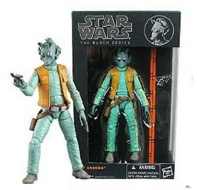 "Star Wars The Black Series 6"" Action Figure Wave 2 Greedo 07 - NEW!"