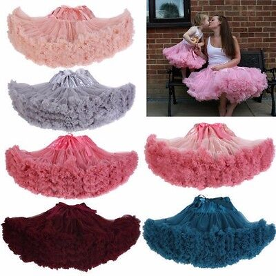 New Short Tulle Fancy Dance Skirt Swing Vintage Wedding Petticoat Net Underskirt