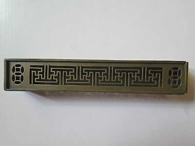 BRASS CRICKET INSECT CAGE BOX JAPANESE c1880