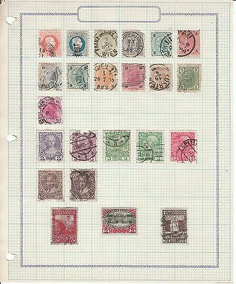 Austria - 140 Stamps on 6 sheets - Used/Mint