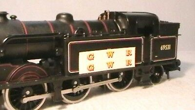 Triang Hornby Lima Ect Yellow Gwr X2 Loco Transfers, Water Slide, Decal's Spares