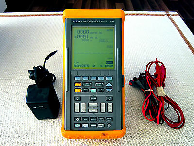 Fluke 99 ScopeMeter Series II 50MHz Dual Imput Osciloscope + Multimeter