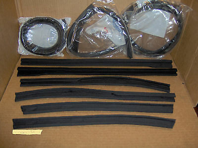 1952 1953 1954 Ford & Mercury CONVERTIBLE WEATHERSTRIP SEAL PACKAGE sunliner