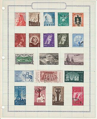 Egypt - 1 sheet of 20 stamps - Used