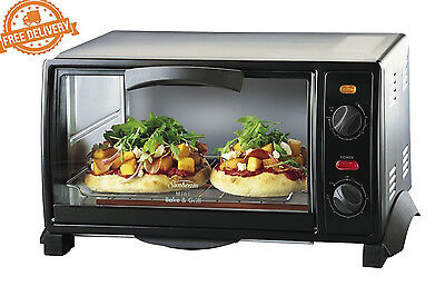 Sunbeam Oven Compact Pizza Bake & Chicken Grill Electric 9L Kitchen Microwave