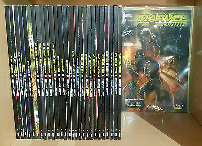 "Panini comics lot "" Marvel Universe "" 1 à 28 (nbrx collector)"