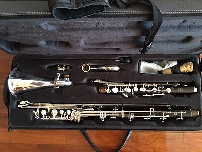 Selmer Paris Privilege Professional Bass Clarinet to Low C with case