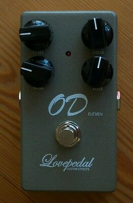 Lovepedal Custom OD-11 Overdrive Pedal