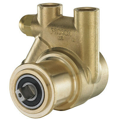New Brass  Procon Rotary Vane  Pump Head  With Clip