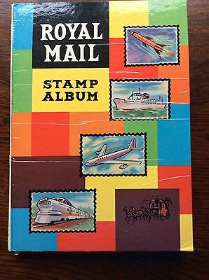 Stamp Album with starter collection of World Stamps