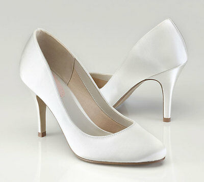 IVORY Court Wedding Shoes MAGNOLIA by Pink Paradox London size 6 (39) New