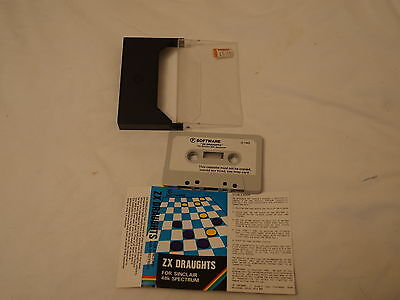 Sunday Flood Of Quality ZX Spectrum Software:- CP ZX Draughts