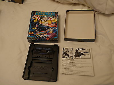 Sunday Flood Of Quality ZX Spectrum Software:- Ocean Batman Caped Crusader + Ins
