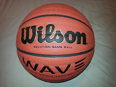 New Wilson Wave Solution Game Basketball - RRP: £65