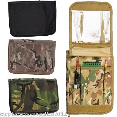 Military A5 Folder Mtp Dpm Commanders Orders Book Folder Map Case Army Cadet