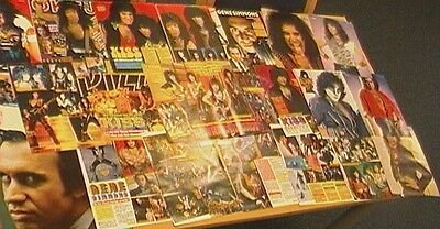 Kiss,  Huge Collection Of Magazine Cuttings, Netherlands ? Lot 5..