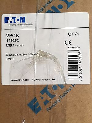 Eaton MEM 2PCB Glasgow Extension Box 160-200A  New