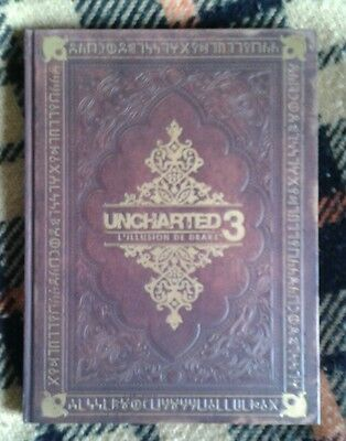 Guide officiel complet Uncharted 3 : l'illusion de Drake - Edition collector CD