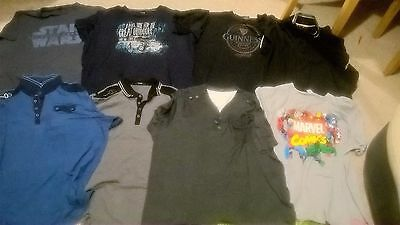 Men's clothes 8x t-shirts and tops bundle size XXXXL (4XL) from George