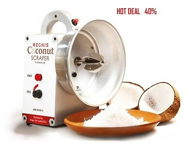 Coconut Scraper Grater Shredder - Regnis Electric Coconut Scraper