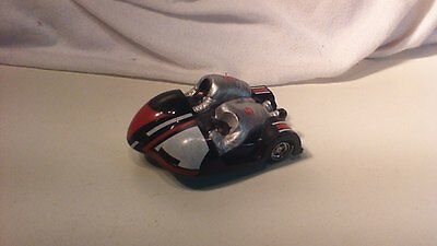 Scalextric motorbike and side car