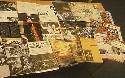 Kiss,  Huge Collection Of Magazine Cuttings,  Japanese.