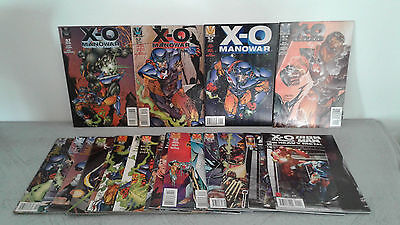 X-O MANOWAR N°51 à 68 + X-O MANOWAR IRON MAN  VALIANT (EN VERSION ORIGINALE)